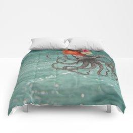 Octopus & Me Comforters