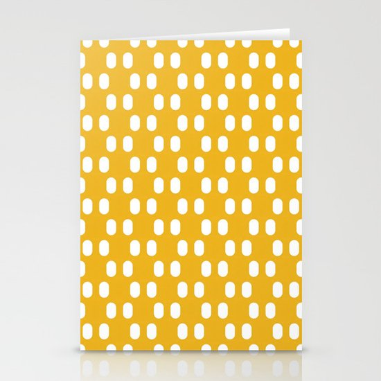 Aelbrecht Yellow Pattern Stationery Cards