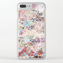 Charlottesville map Virginia Clear iPhone Case
