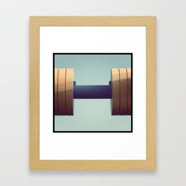 gym Framed Art Print