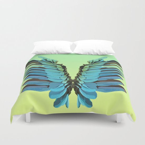 Macaw Wings Duvet Cover