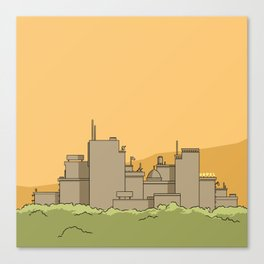 City #1 Canvas Print