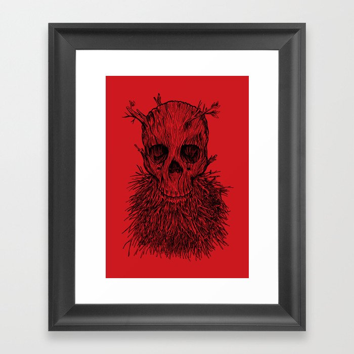 The Lumbermancer Framed Art Print