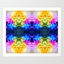 spots caos turns art Art Print