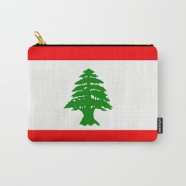 Flag of Lebanon Carry-All Pouch