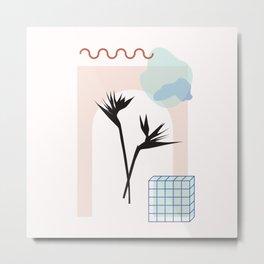 // Royal Gardens 01 Metal Print