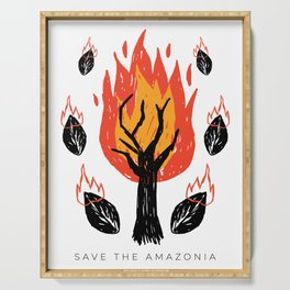 Amazonia 2019 - Save The Planet Serving Tray