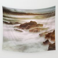 calm Wall Tapestries featuring Calm by SpaceFrogDesigns