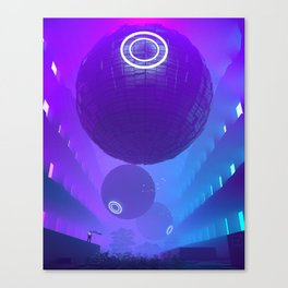 Finally Here Canvas Print
