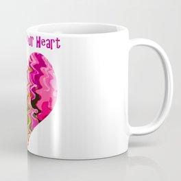 Follow your heart pink Coffee Mug