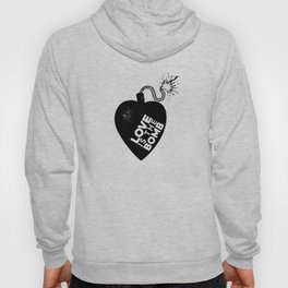 Love is the Bomb Hoody
