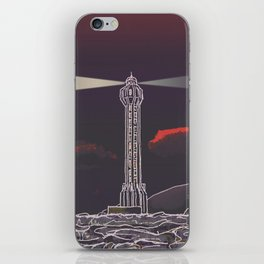 Lighthouse / Punta Lava La Palma iPhone Skin