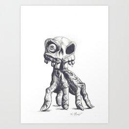 MediEvil Art Print