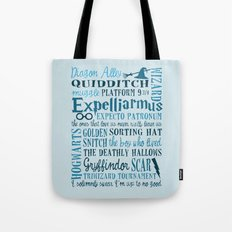 Harry Potter - All Quotes  Tote Bag