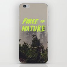 Force of Nature x Cloud Forest iPhone & iPod Skin