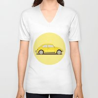 vw V-neck T-shirts featuring VW by Robert Gustafsson