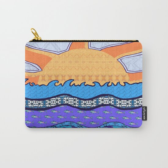 Sun on the Horizon Carry-All Pouch