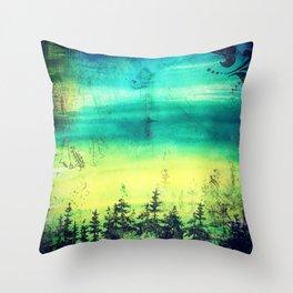 Resting Season Throw Pillow