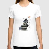 zen T-shirts featuring Zen by CokecinL