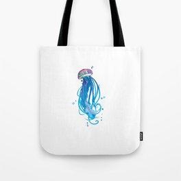 Cerulean Squishy Tote Bag