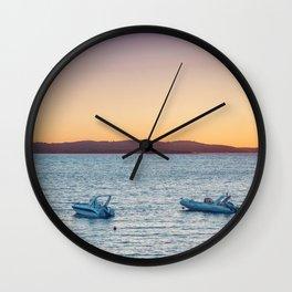 Two boats Wall Clock