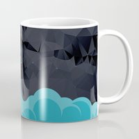 rocket Mugs featuring Rocket by Talip Memis