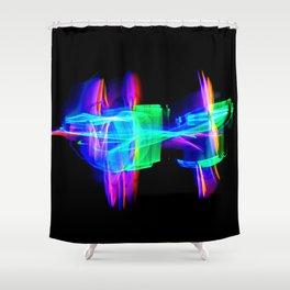 RAINBOW GLOW Shower Curtain