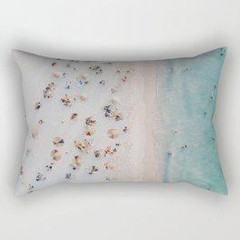 summer beach iii Rectangular Pillow