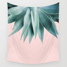Agave fringe - blush Wall Tapestry