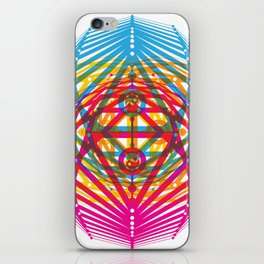 4 Corners of Abundance (wide) iPhone Skin
