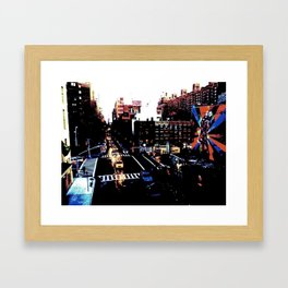 25th St. (Color) Framed Art Print