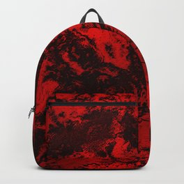 Marble-Red Backpack
