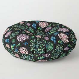 FLORAL PATTERN 3 Floor Pillow
