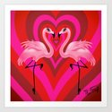 Flamingo Love by fluffshop