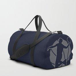 Basketball Player II (monochrome) Duffle Bag