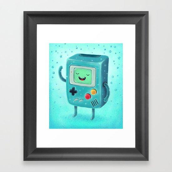Game Beemo Framed Art Print