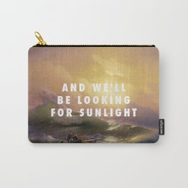 Ivan Aivazovsky, The Ninth Wave (1850) / Halsey, Roman Holiday (2015) Carry-All Pouch