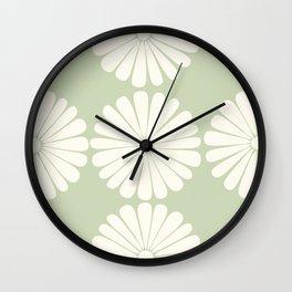Retro Daisy XXV Wall Clock