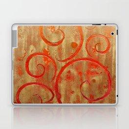 Pompeii Red (encaustic painting) Laptop & iPad Skin