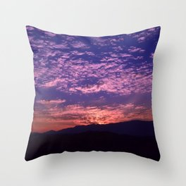 SW Mountain Sunrise - II Throw Pillow