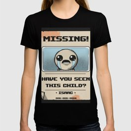 Missing Poster T-shirt