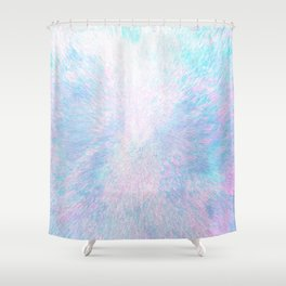 Snow Motion Shower Curtain