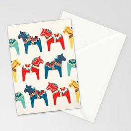 Swedish Horses Stationery Cards