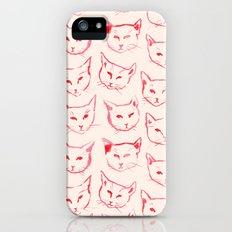 Red Cat Slim Case iPhone (5, 5s)