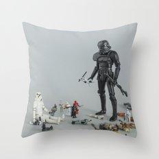 Sandbox Trooper Throw Pillow