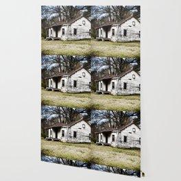 A sad shack. Wallpaper