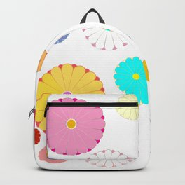 HOMEMADE JAPANESE FLOWER PATTERN Backpack