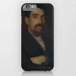 James Abbott McNeill Whistler - The Master Smith of Lyme Regis iPhone Case