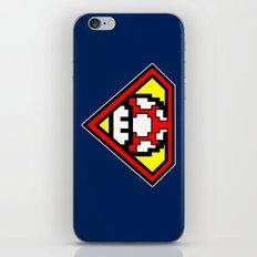 Super Mushroom iPhone & iPod Skin