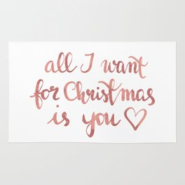 All I want for Christmas is You! n.2 Rug